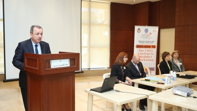 FIDIC WORKSHOP AT THE BEIRUT BAR ASSOCIATION