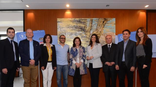 MasterCard celebrates partnership with Banque Libano-Française in Lebanon