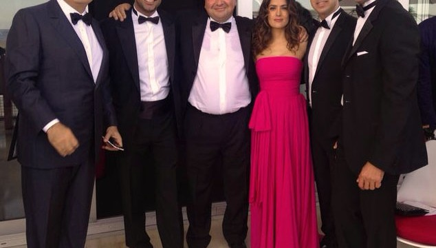 """FFA Private Bank, Salma Hayek and Lebanon at Cannes Festival 2014"""