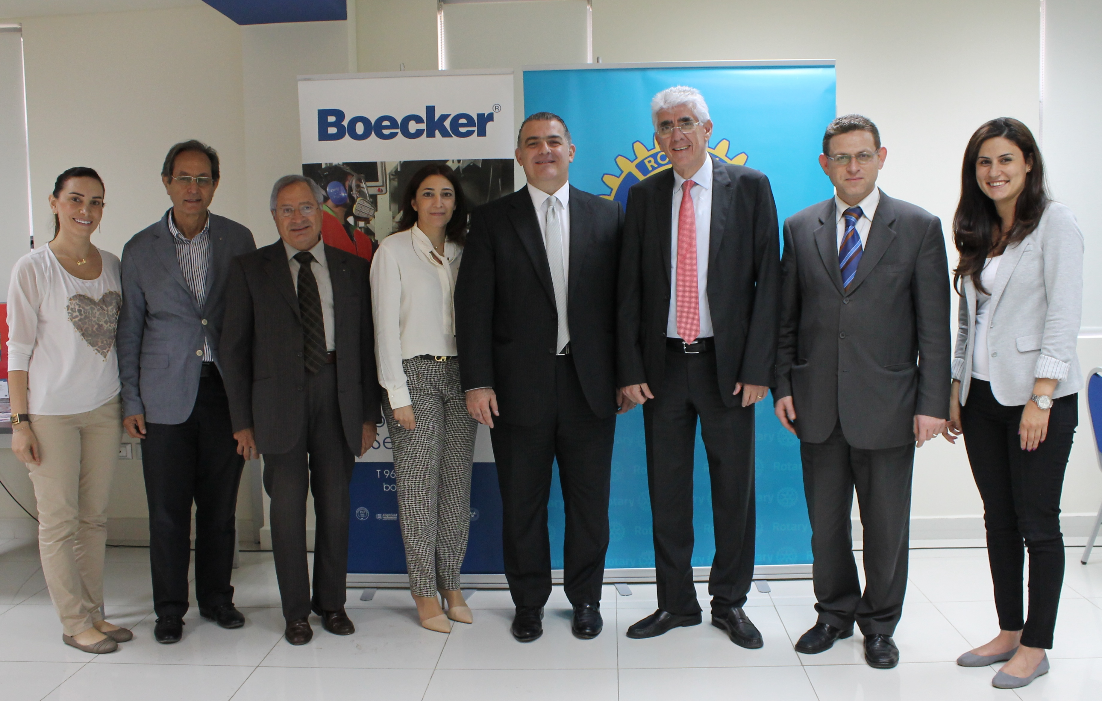 boecker and rotary sign mou to provide quality water and training to lebanese public schools. Black Bedroom Furniture Sets. Home Design Ideas