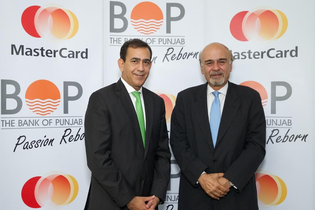 Raghu Malhotra, Division President, MENA - MasterCard and Naeemuddin Khan, President and CEO - Bank of Punjab