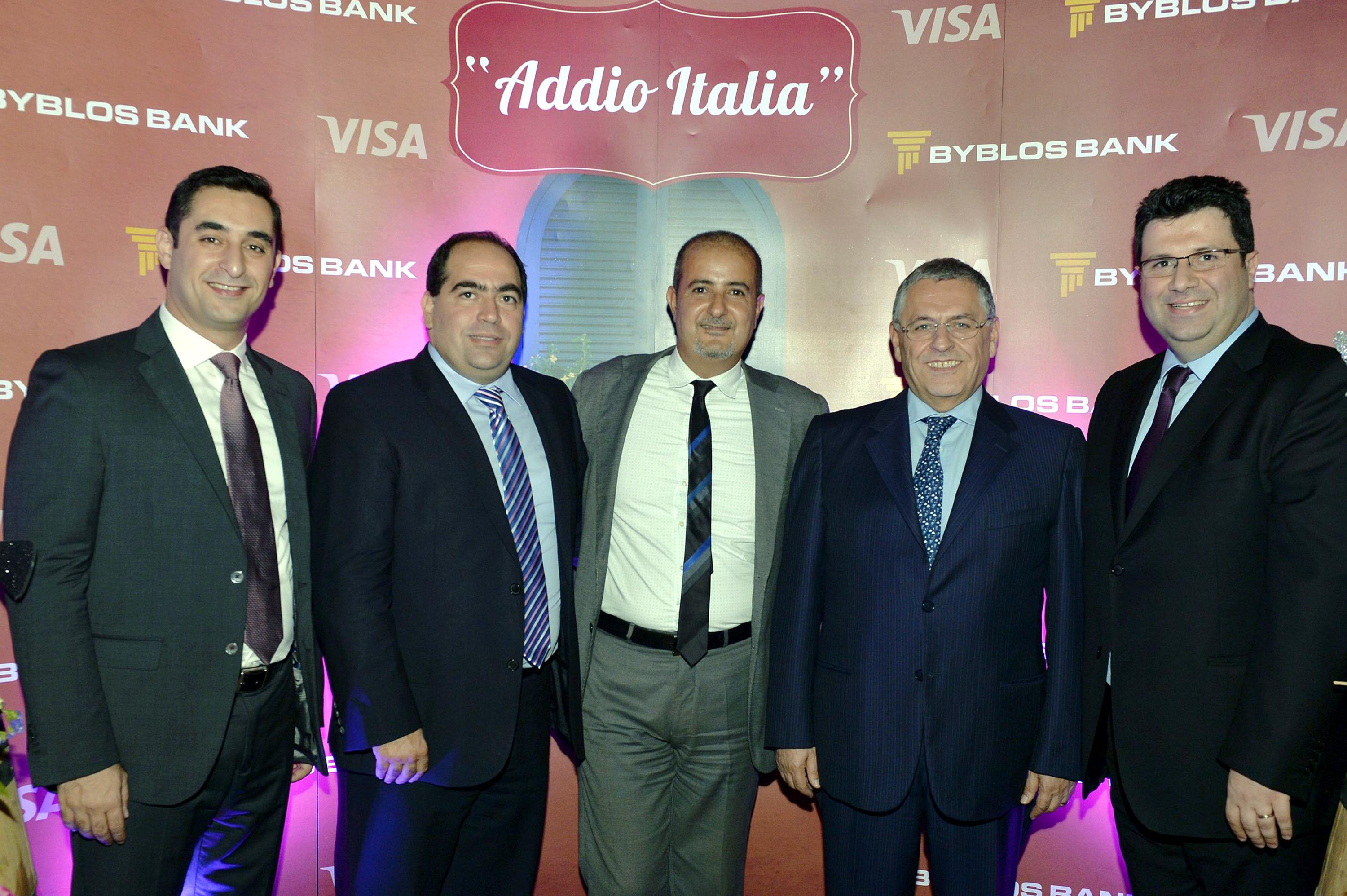 """the best attitude 43589 b4017 Byblos Bank and Visa Celebrate """"Fly to Italy"""" Success and ..."""