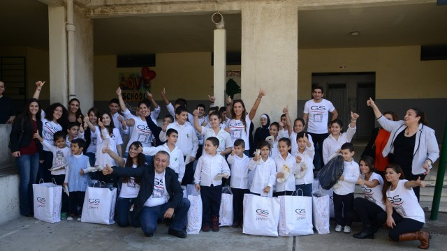 GS Puts a Smile onMore Than 800 Children's Faces