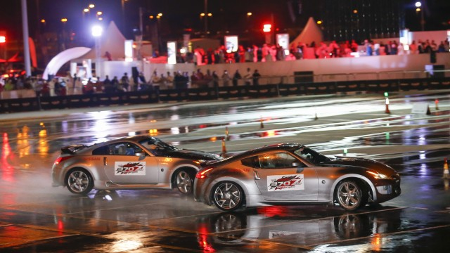 Nissan 370Zs in Action-Launch Event