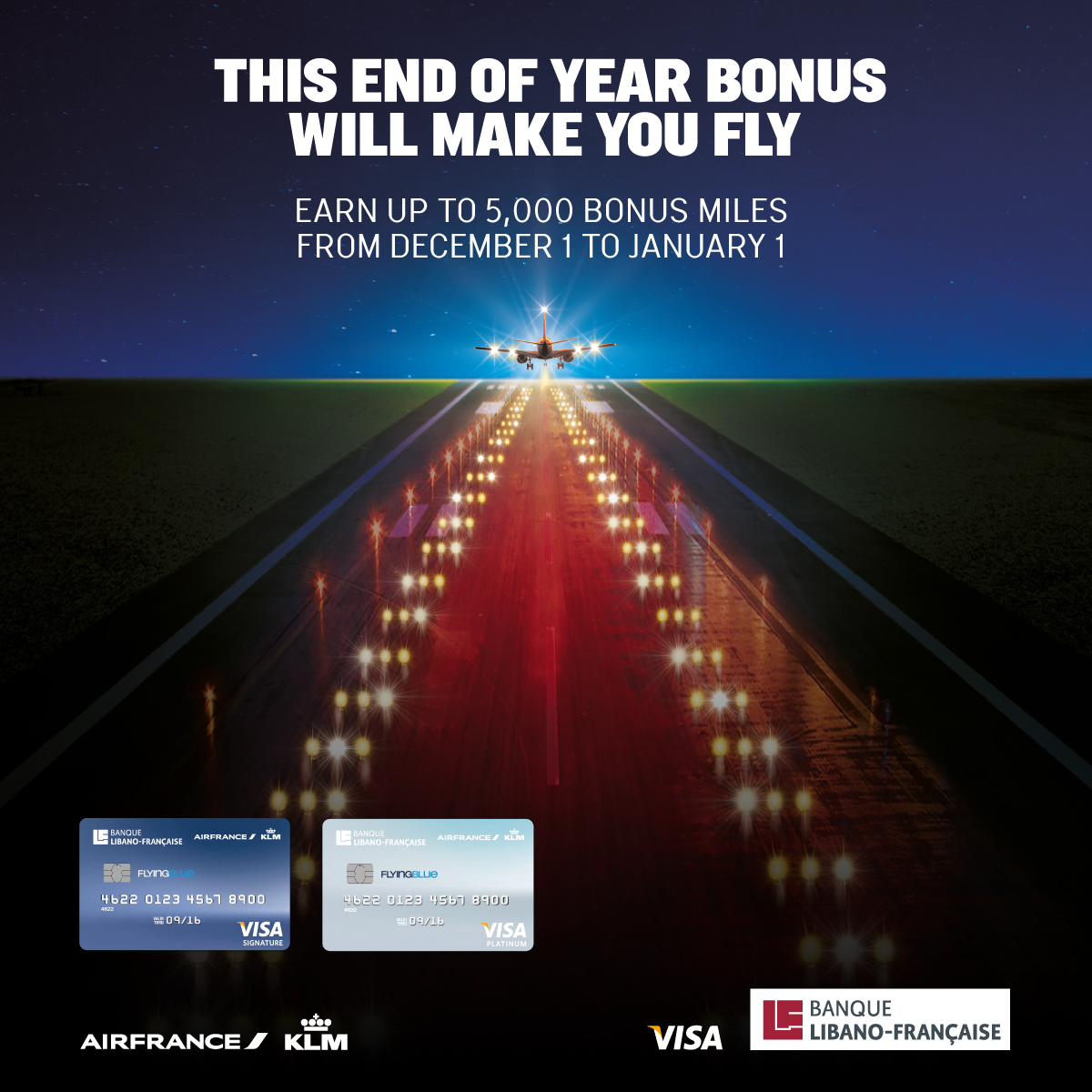 This end of year bonus will make you fly