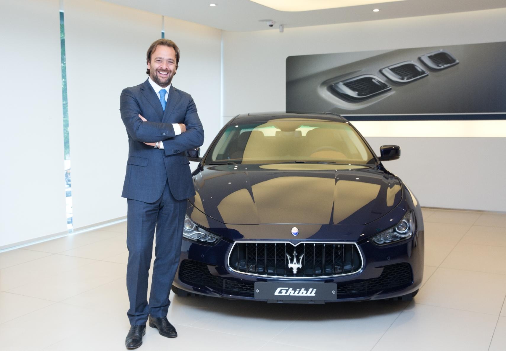 Umberto Cini_MD Maserati Global Overseas Markets
