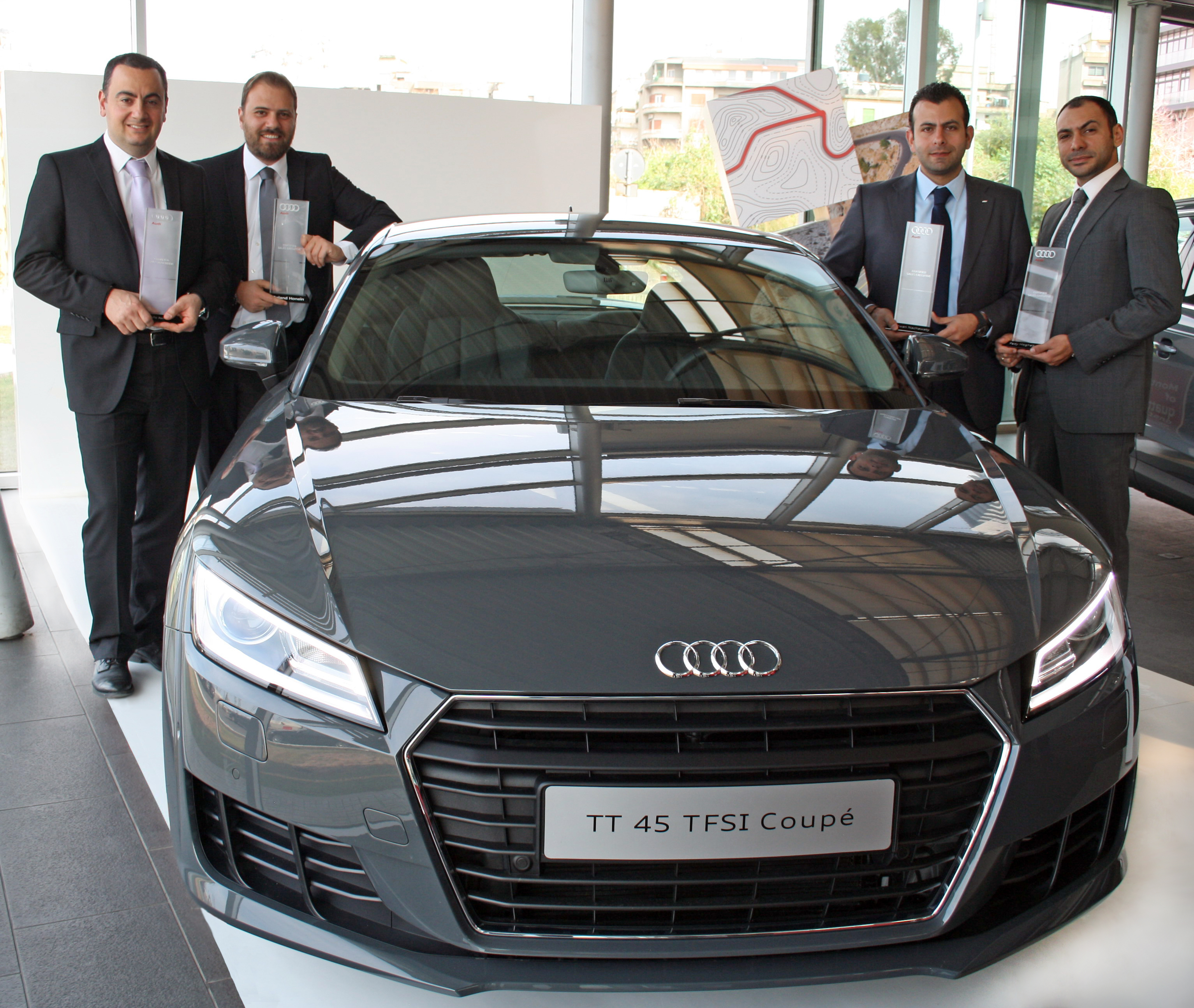 Audi's Executive Qualification Program Awarded To Sales