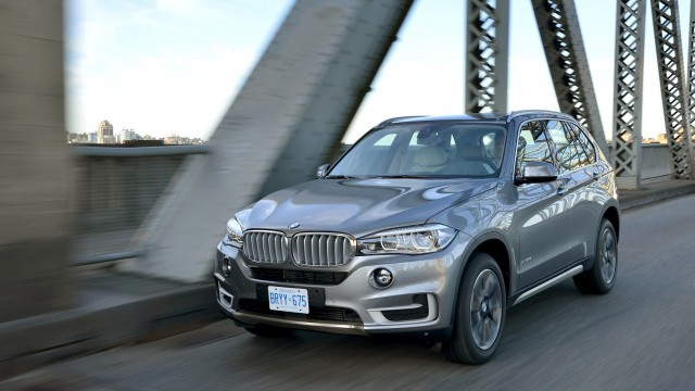All new BMW X5 front