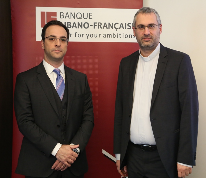 Jamil Koudim and Paul Douaihy