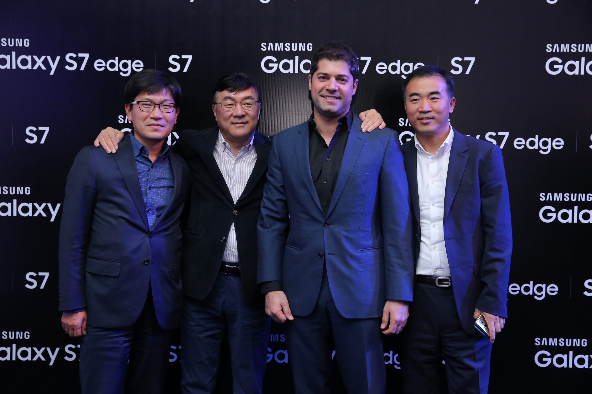 Samsung Electronics Levant Launches Galaxy S7  S7 edge