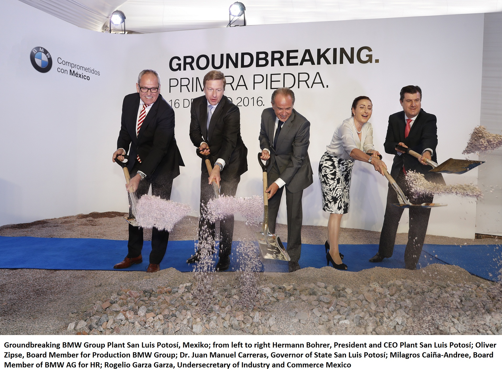 Groundbreaking BMW Group Plant Mexico