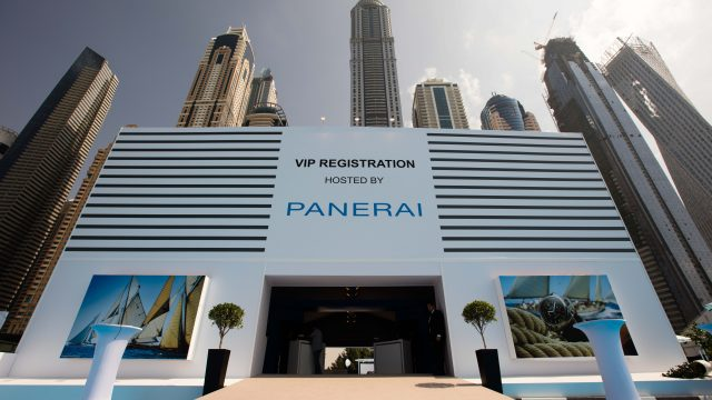 Panerai Dubai International Boat Show
