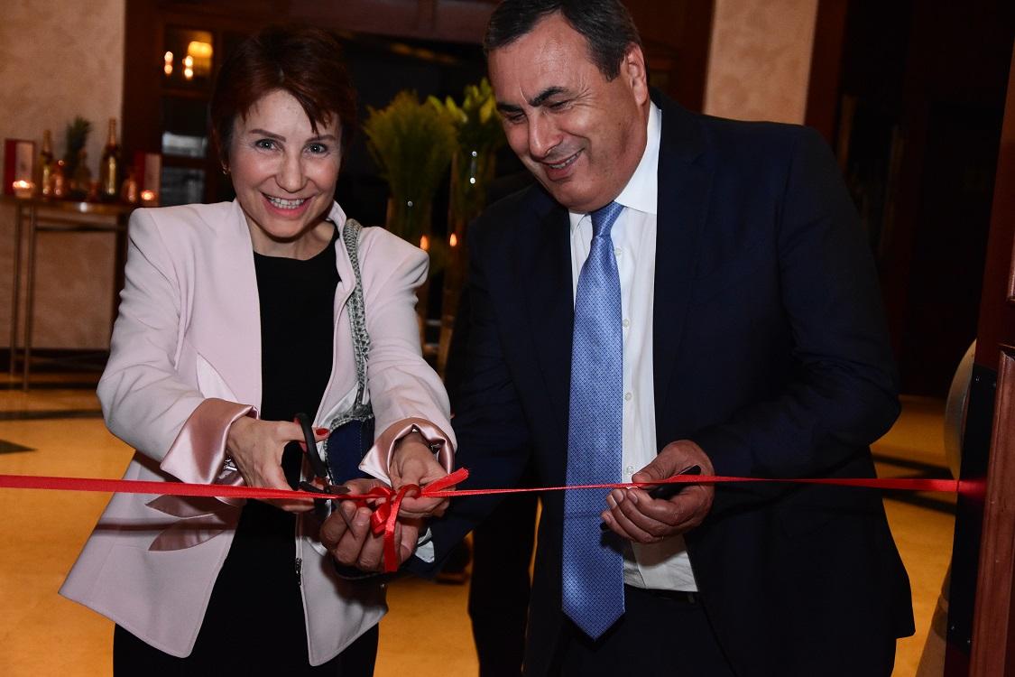 Cécile Longé and Naif Zureikat