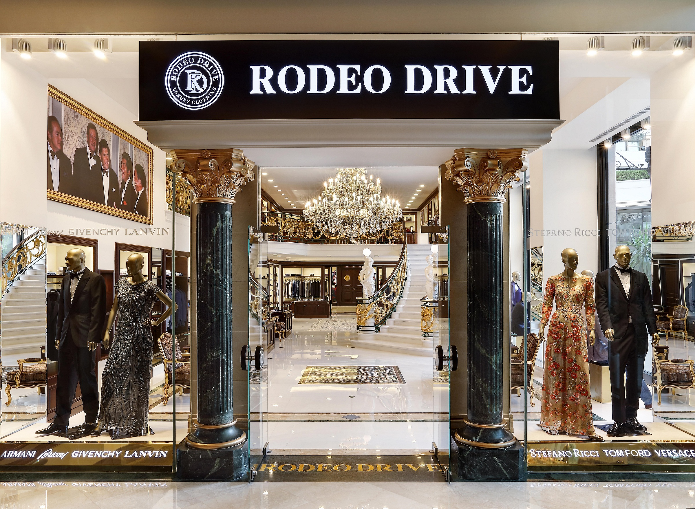 Rodeo Drive Opens Its New Boutique At Phoenicia Hotel