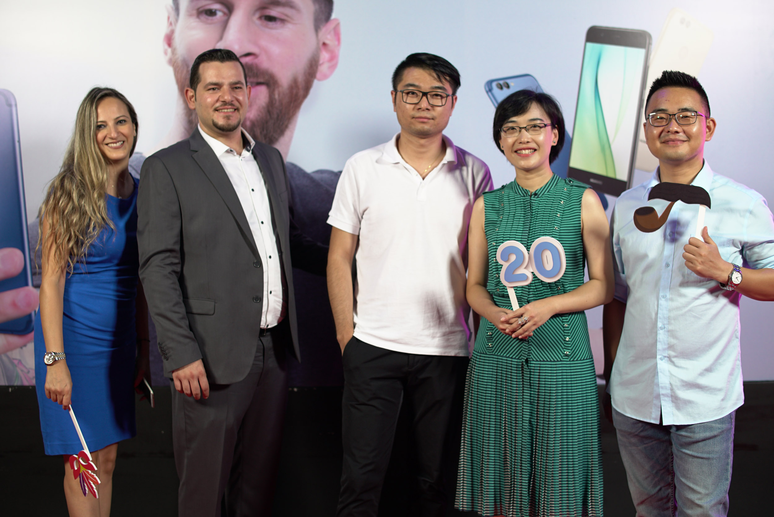 Danielle Sayes, Youssef Zein, Andy Lihag, Penny Diao and Allen Jinlong