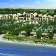 Saadiyat Rotana Resort ariel view