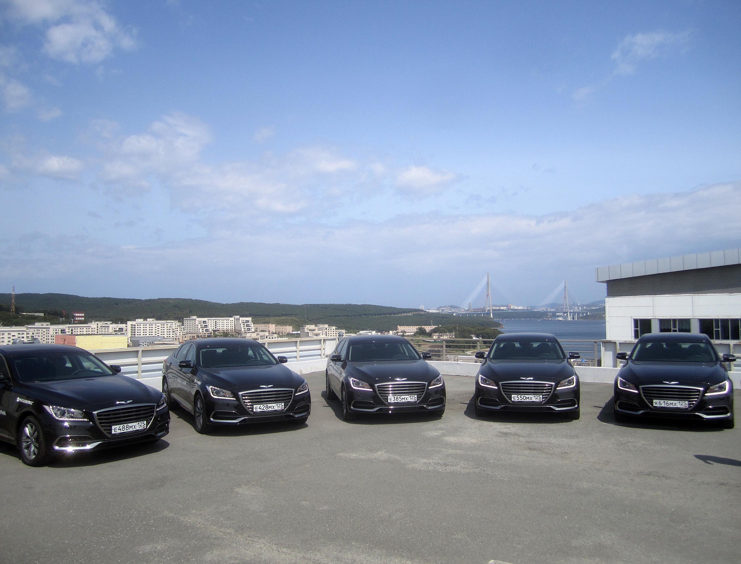 Genesis to Supply Luxury G80 Sedans to Eastern Economic Forum 1