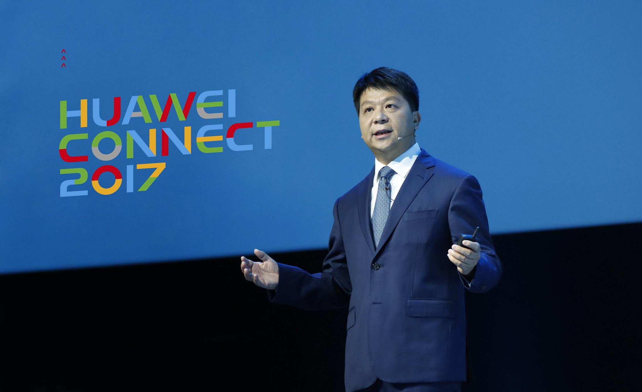 Guo Ping-Huawei Rotating CEO-Kicks off Huawei Connect