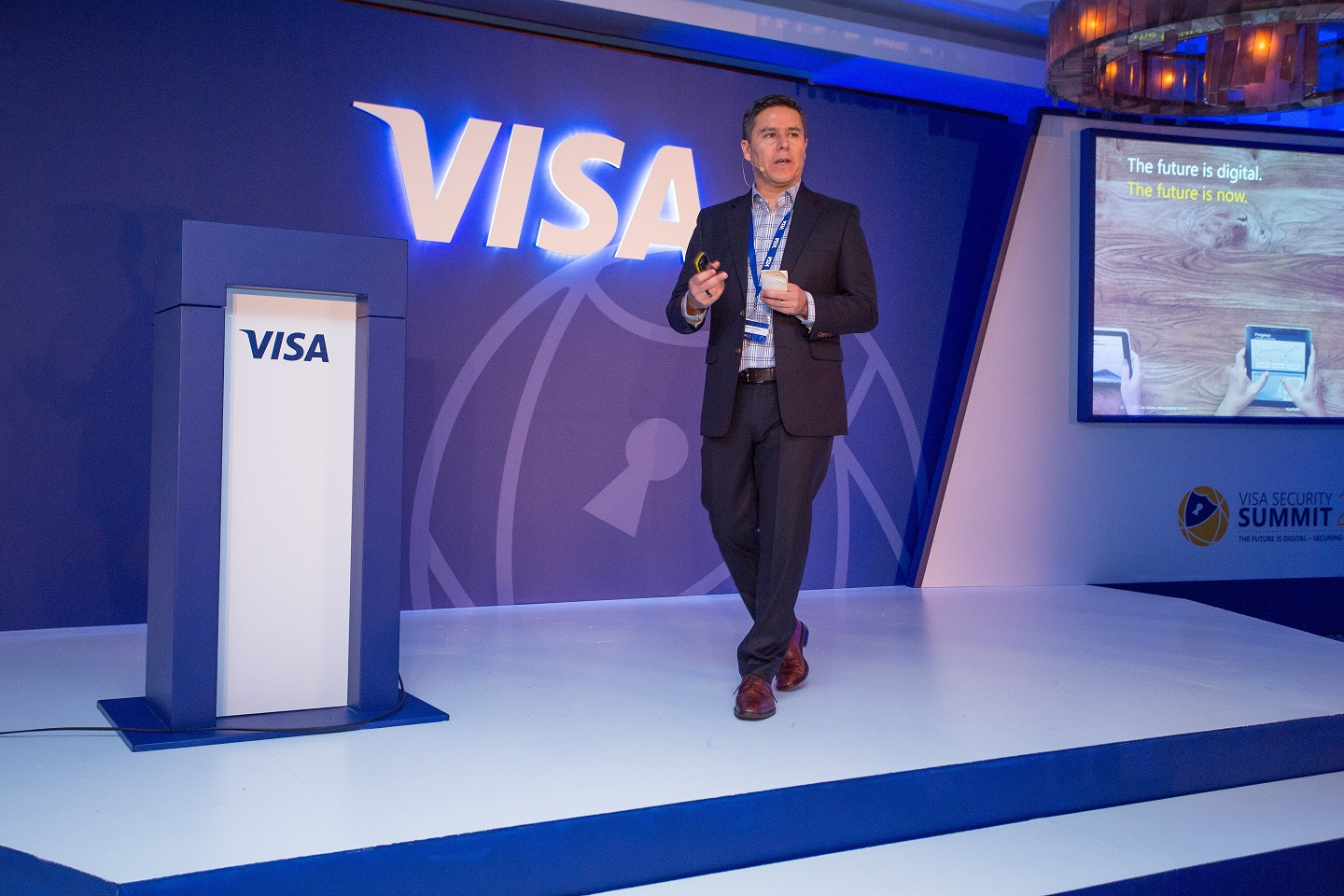 Hector Rodriguez at Visa Security Summit for Middle East and Eastern Europe