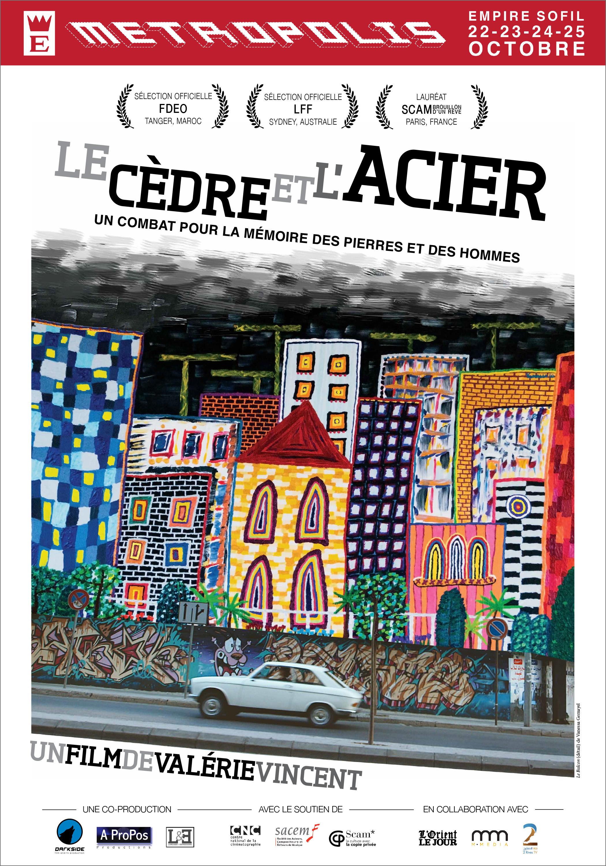 Cedre et Acier affiche web FR