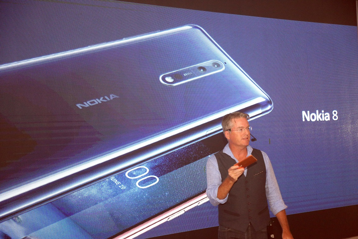 Nokia 8 Launching event