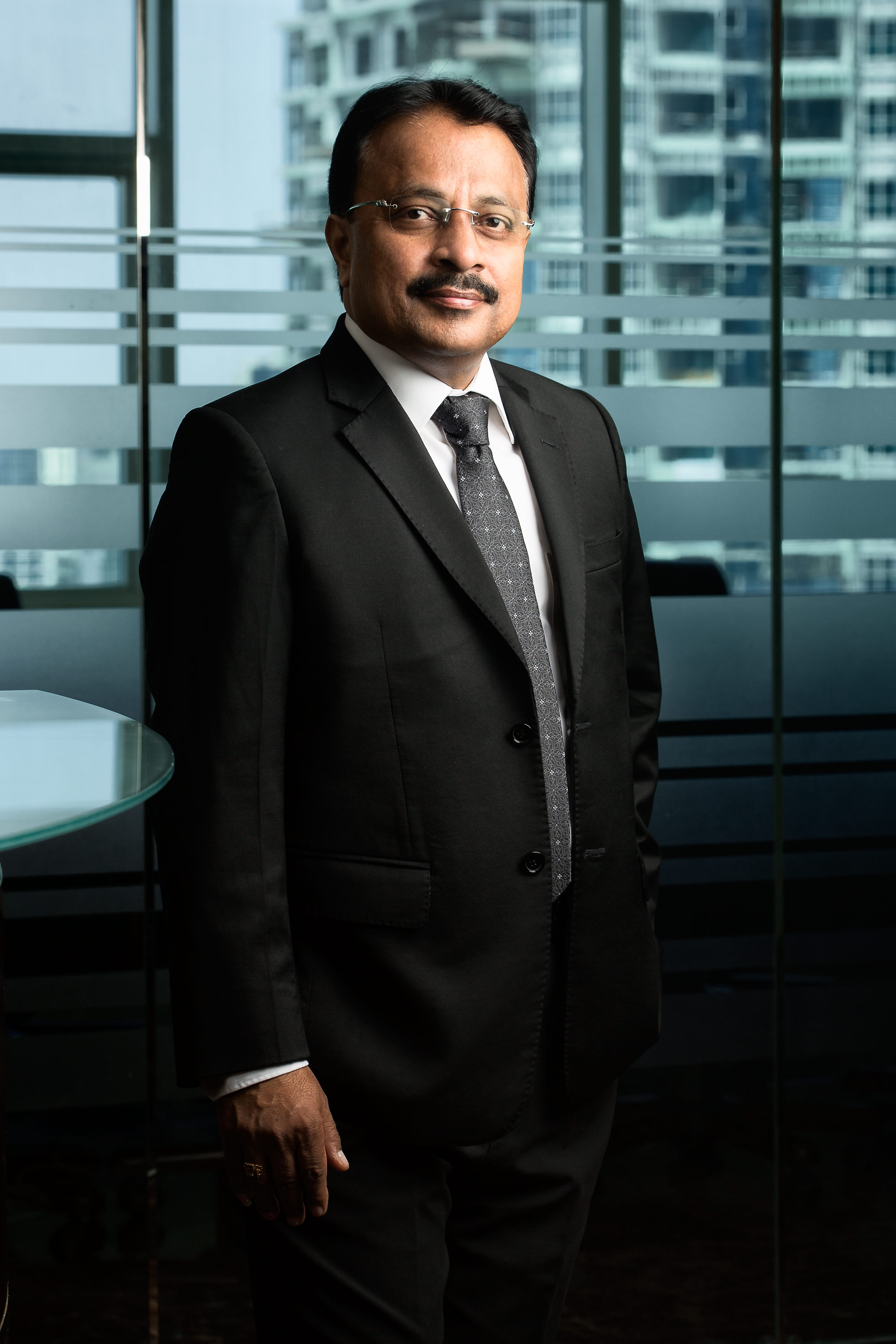 Mr Sudhakar Rao, MD, Gemini Property Developers