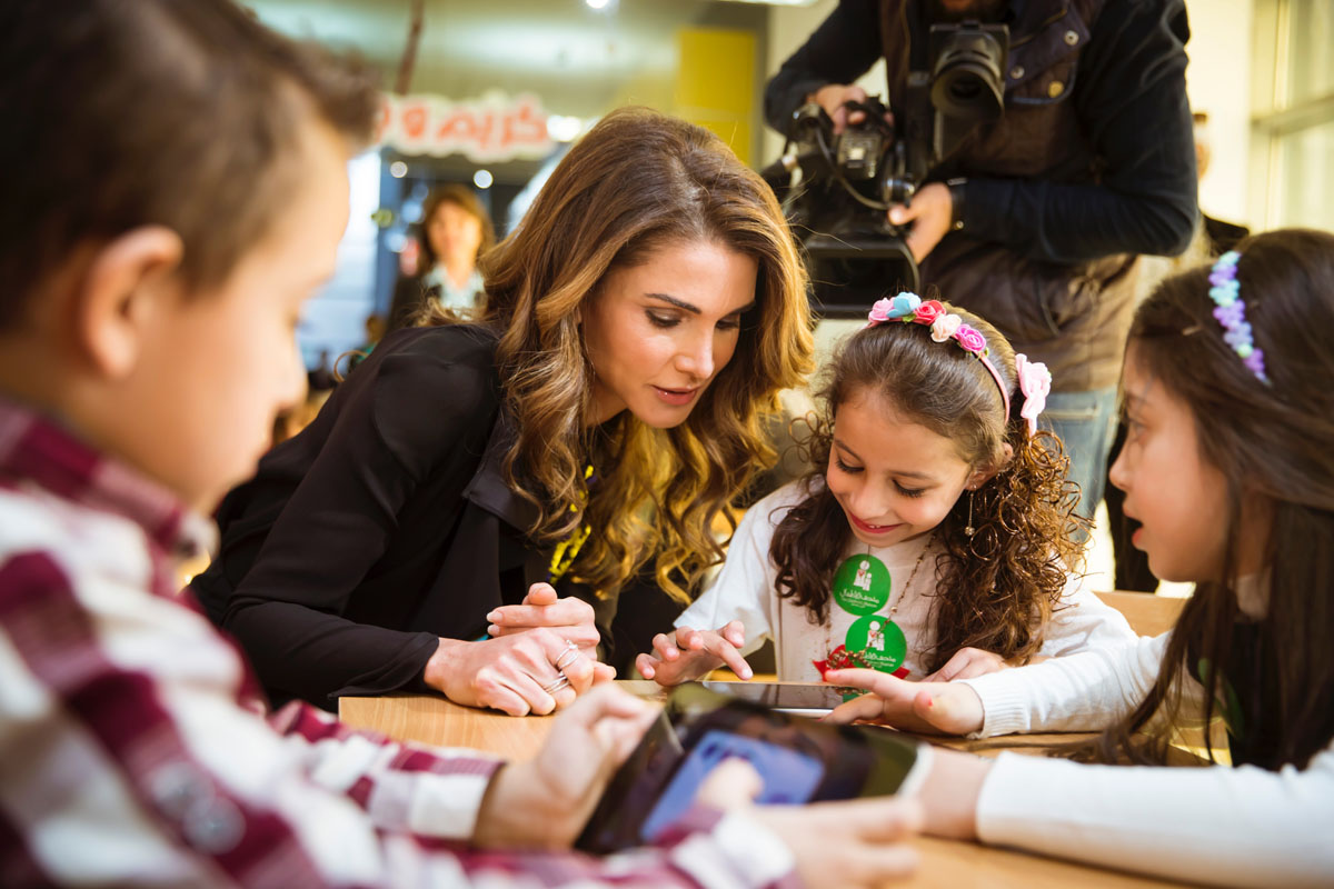 Queen Rania Foundation Launches Mobile Application to Support Early Childhood Education