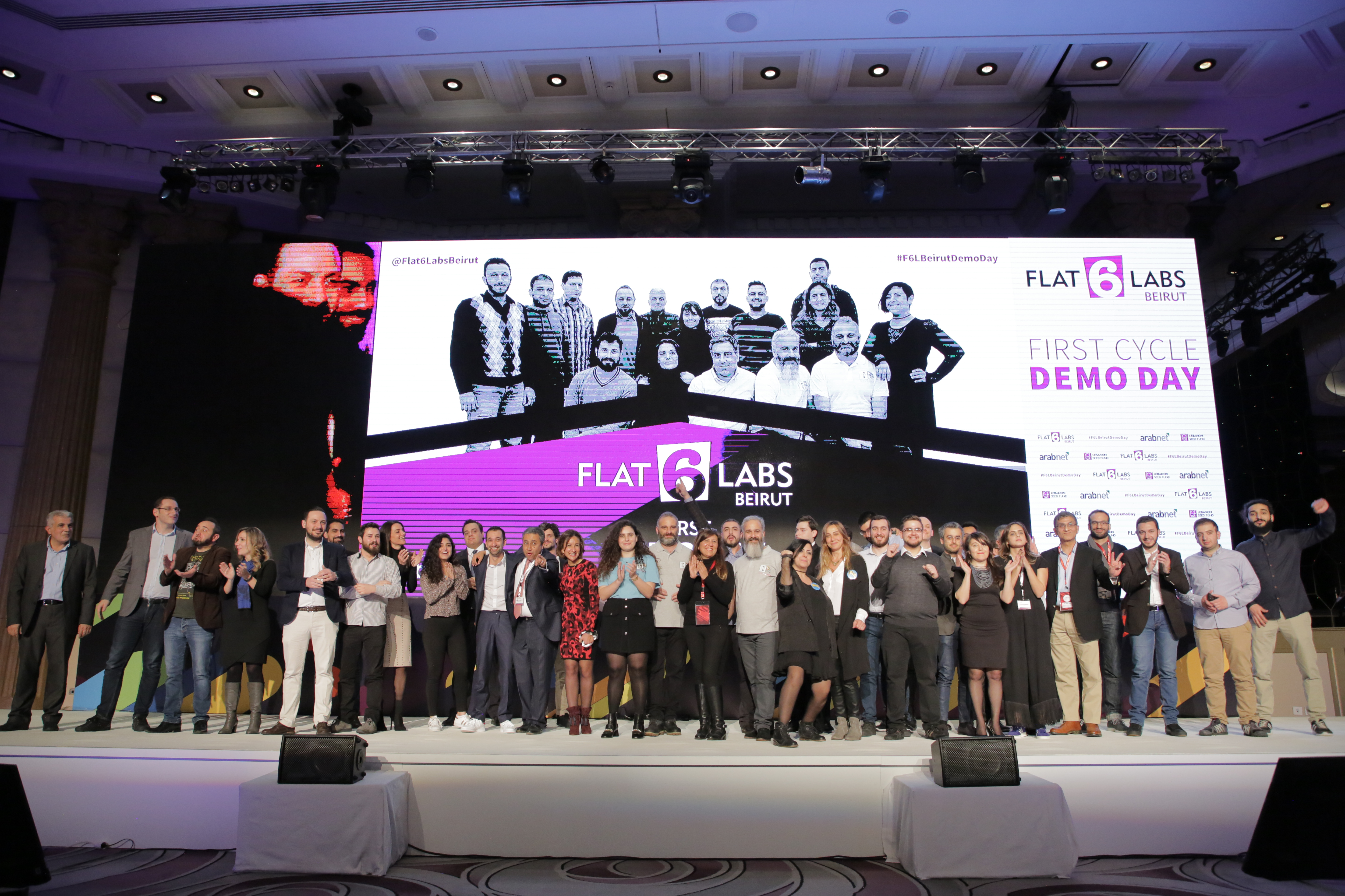 Flat6Labs Beirut Graduates Ten Startups during its First Demo Day