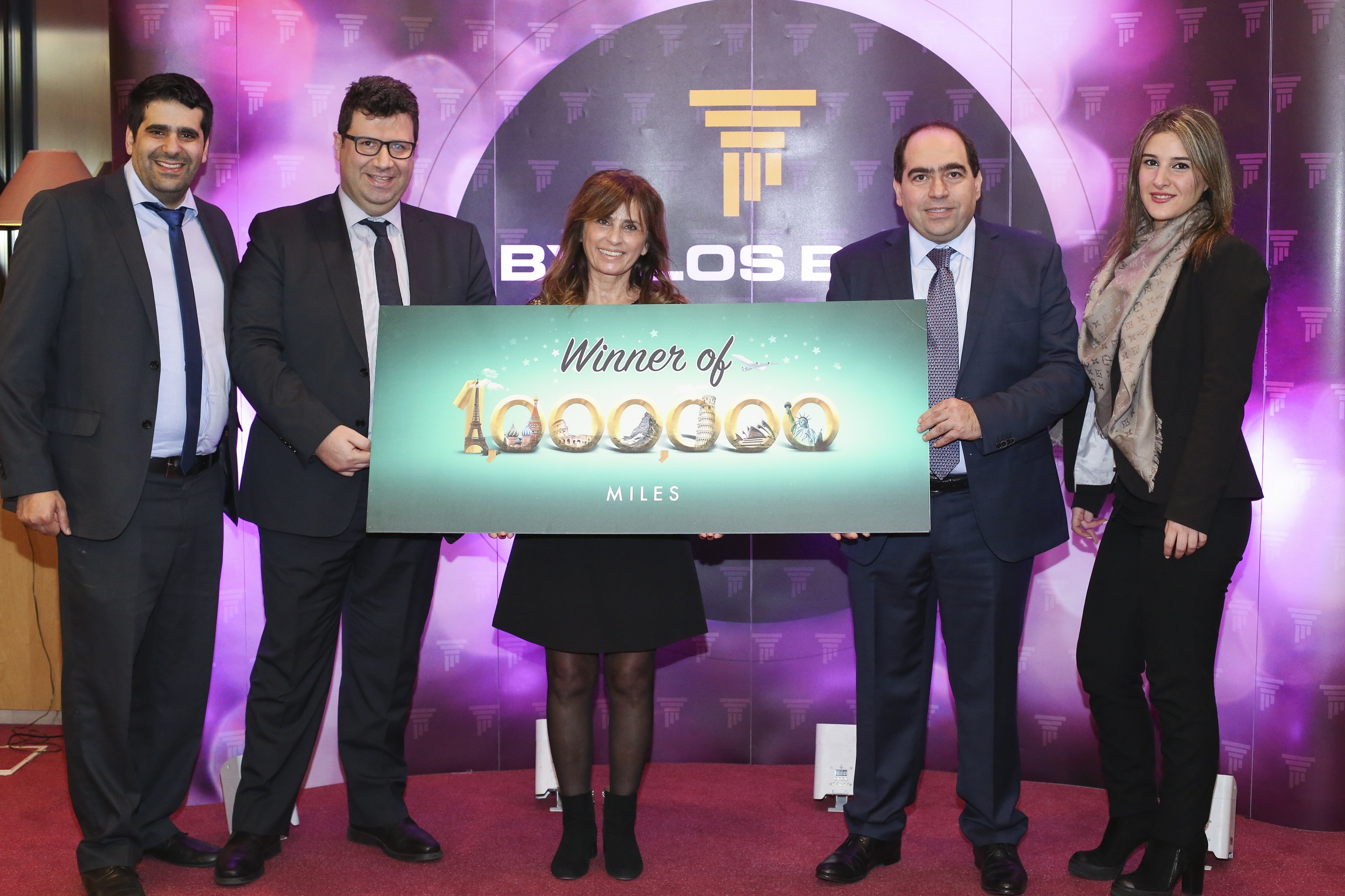 Mrs Samira Zina - 1 Million Miles - Byblos Bank