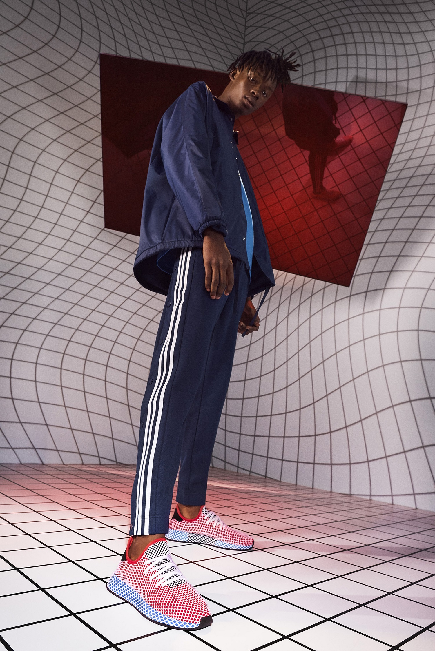 san francisco 02520 2aa33 Beirut, Lebanon (March 2018) – adidas Originals introduces its newest  sneaker, Deerupt — a contemporary take on adidas heritage realized in a  radically new ...