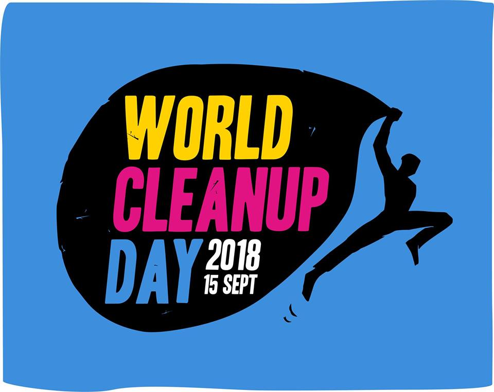 World Clean Up Day 2018 Logo