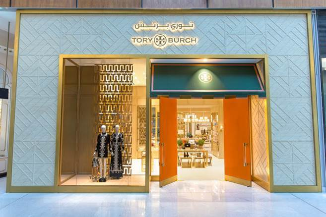 03dbf06f8158 NEW YORK — Tory Burch has re-opened its boutique at The Dubai Mall. The  renovated space now features the brand s new design concept