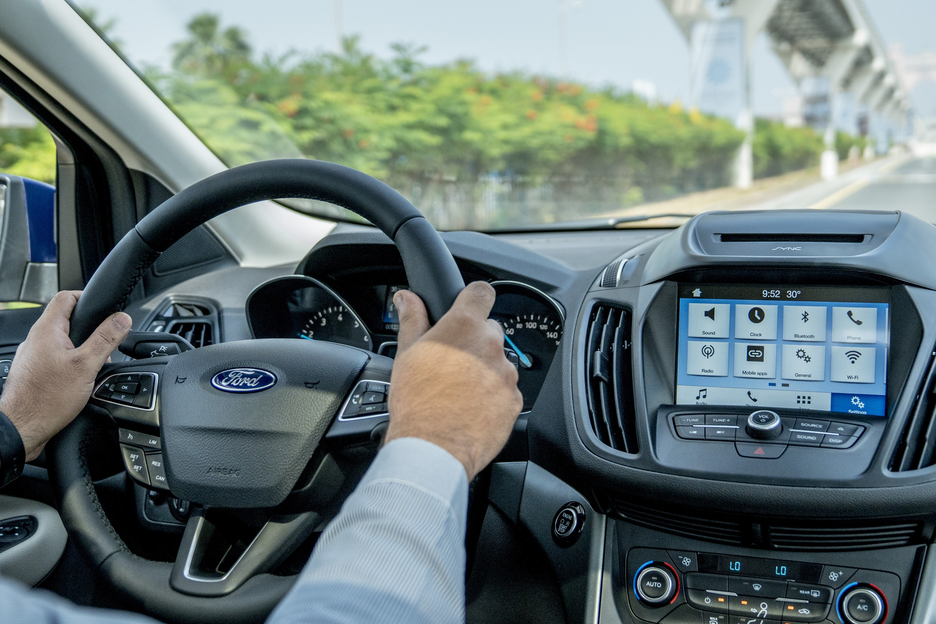 Five Ways Ford's Clever SYNC® 3 System Can Help You Safely