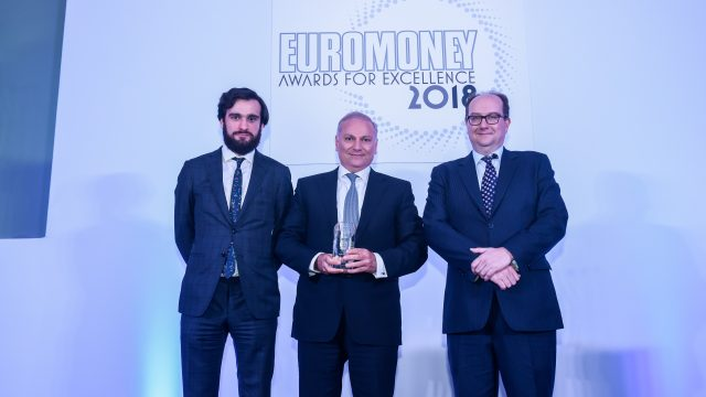 """BLOM BANK Receives """"The Best Bank in Lebanon for 2018"""" Award from the Internationally Renowned Magazine Euromoney"""