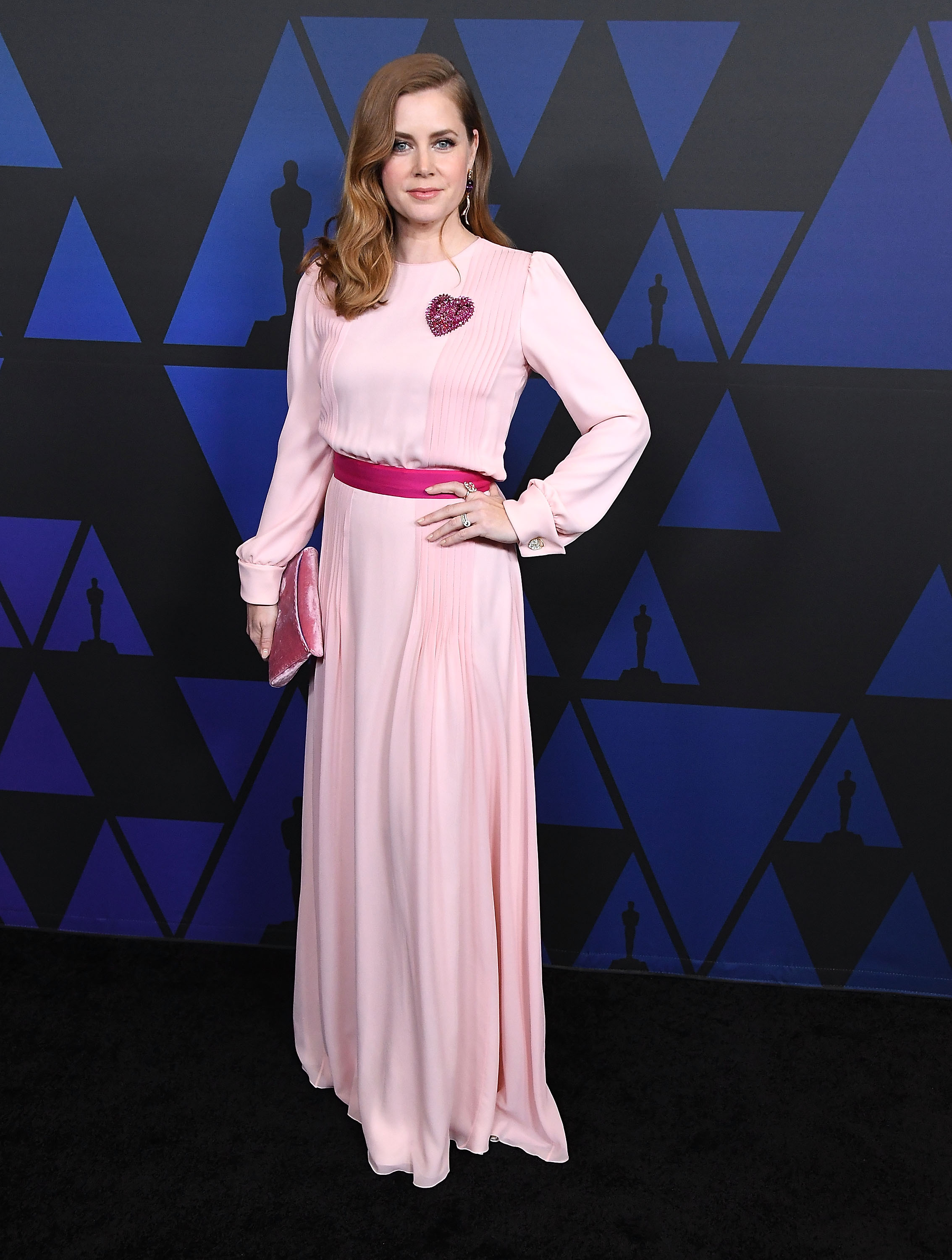 HOLLYWOOD, CA - NOVEMBER 18:  Amy Adams arrives at the Academy Of Motion Picture Arts And Sciences' 10th Annual Governors Awards at The Ray Dolby Ballroom at Hollywood & Highland Center on November 18, 2018 in Hollywood, California.  (Photo by Steve Granitz/WireImage)