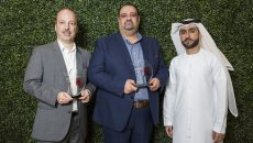 winners  Comms MEA 2018 Grosvenor House  Dubai, United Arab Emirates, November 14, 2018 (Photo by Aasiya Jagadeesh/ITP Images)