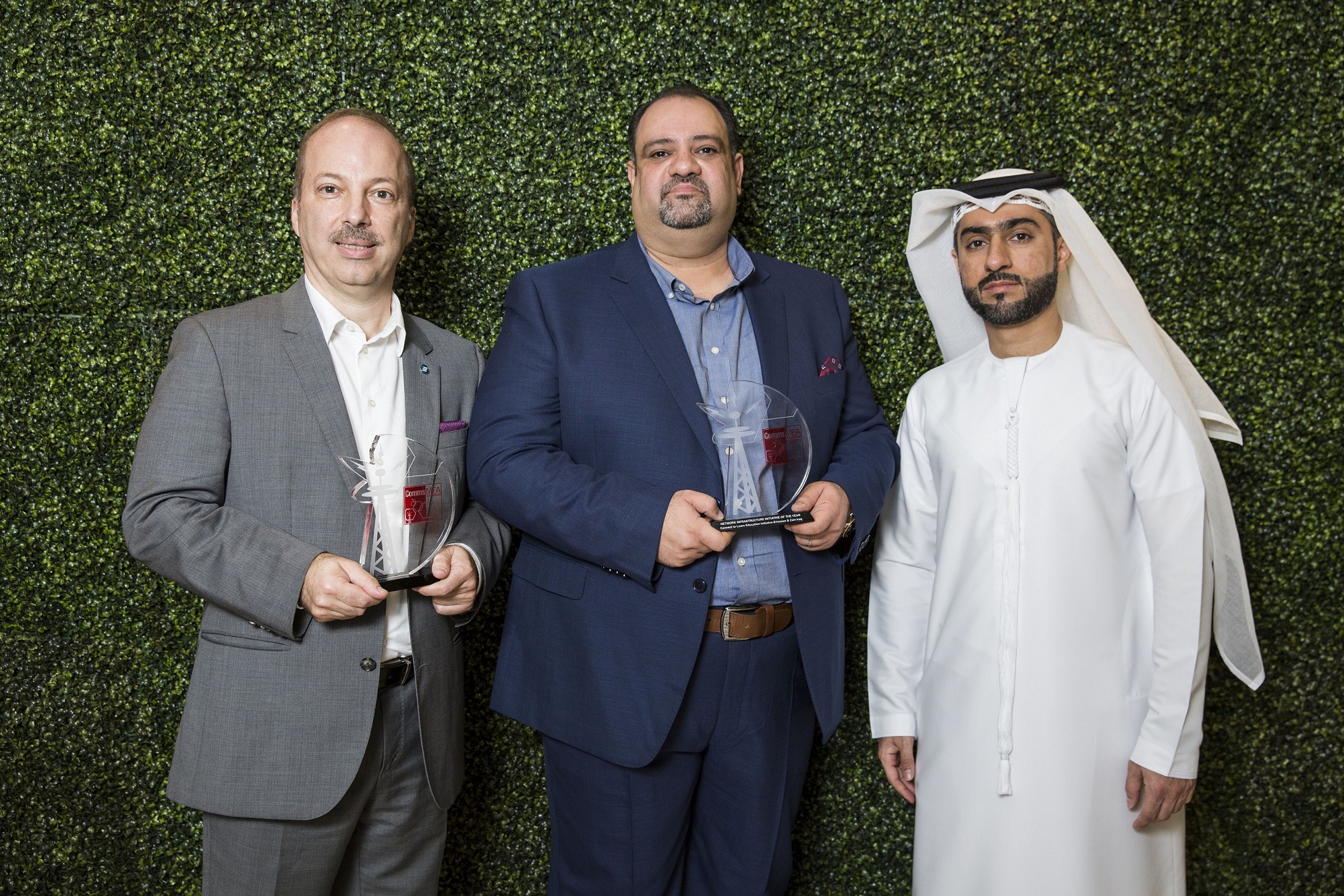 winners  Comms MEA 2018 Grosvenor House  Dubai, United Arab Emirates, November 14, 2018 (Photo by Aasiya Jagadeesh/ITP Images)