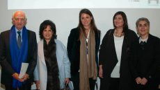 Manal Ataya (second right)
