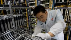 Huawei is cooperating with the Japanese government and bolstering purchases of parts in Japan (2)