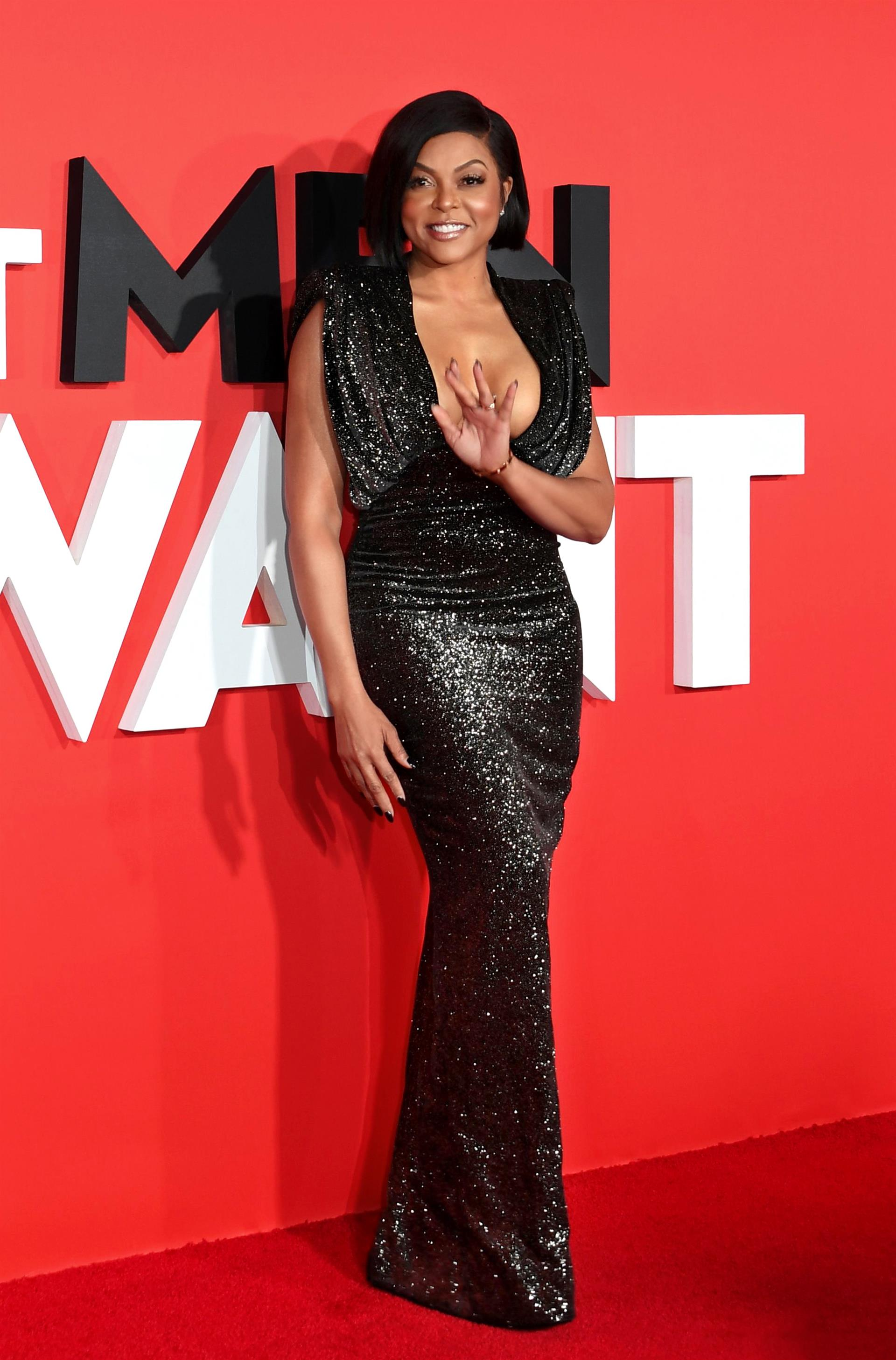 Taraji P Henson in Ralph and Russo Couture AW18 Look 09 CROPPED