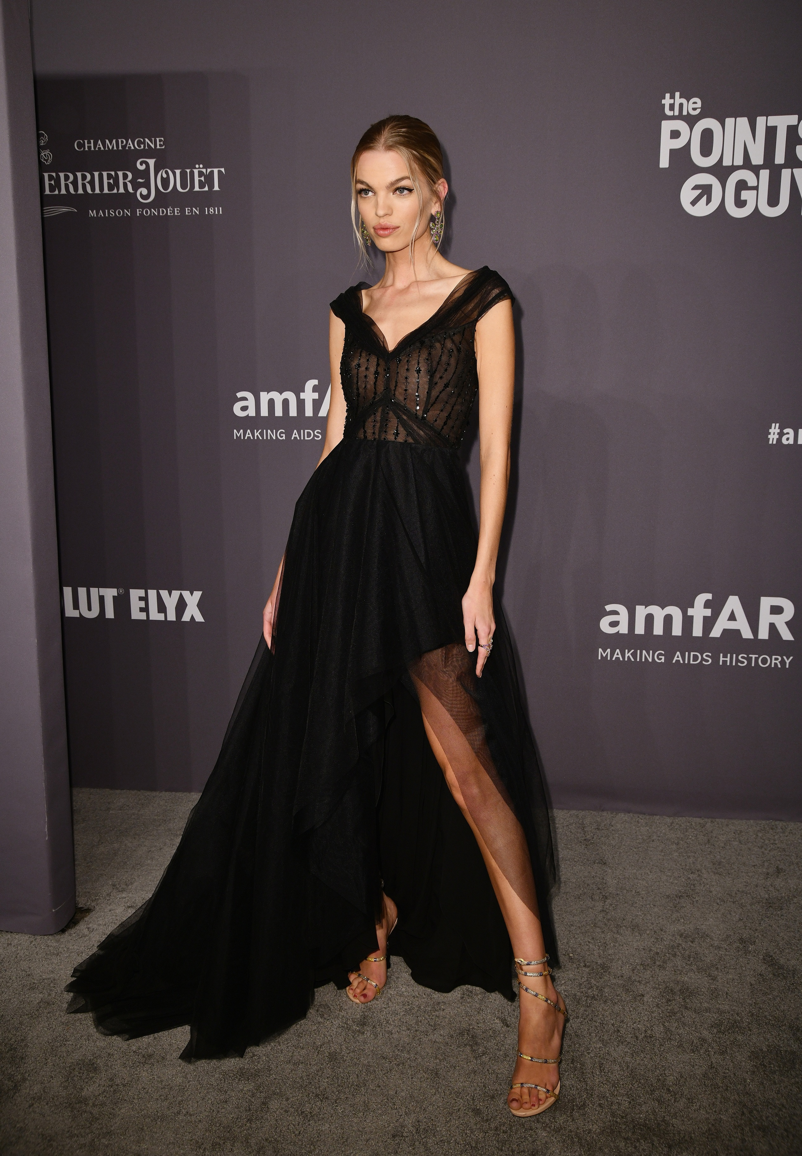 NEW YORK, NY - FEBRUARY 06:  Daphne Groeneveld attends the amfAR New York Gala 2019 at Cipriani Wall Street on February 6, 2019 in New York City.  (Photo by Jared Siskin/amfAR/Getty Images)