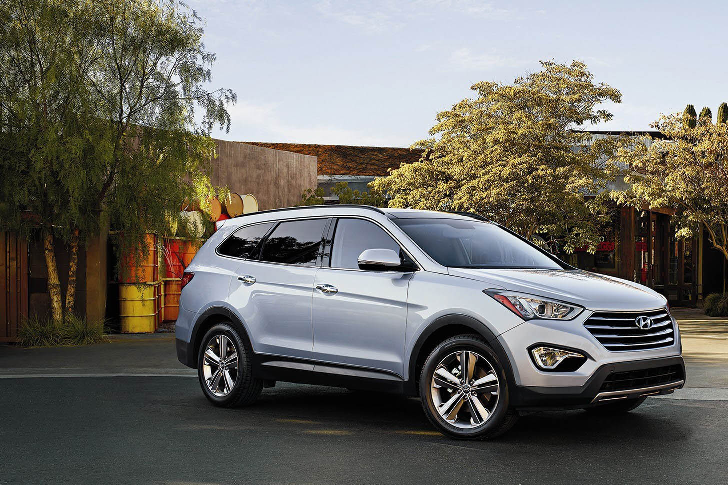 hyundai santa fe named most dependable mid size suv by j d power executive bulletin. Black Bedroom Furniture Sets. Home Design Ideas