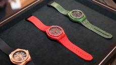 Hublot Classic Fusion Aerofusion Orlinski Red Magic and Green Ceramic