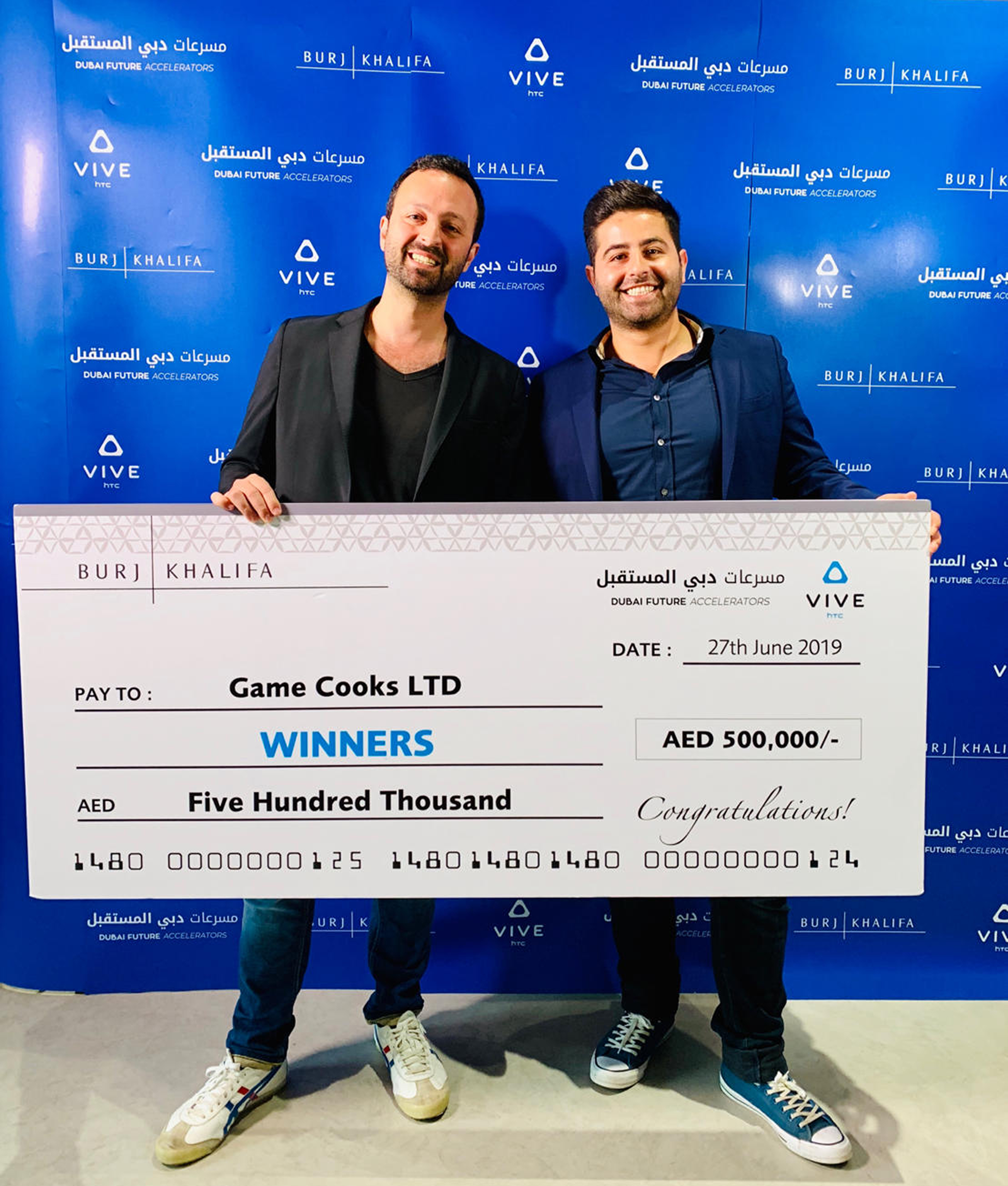 Lebanese 'Game Cooks' wins the VR and Beyond challenge for Burj