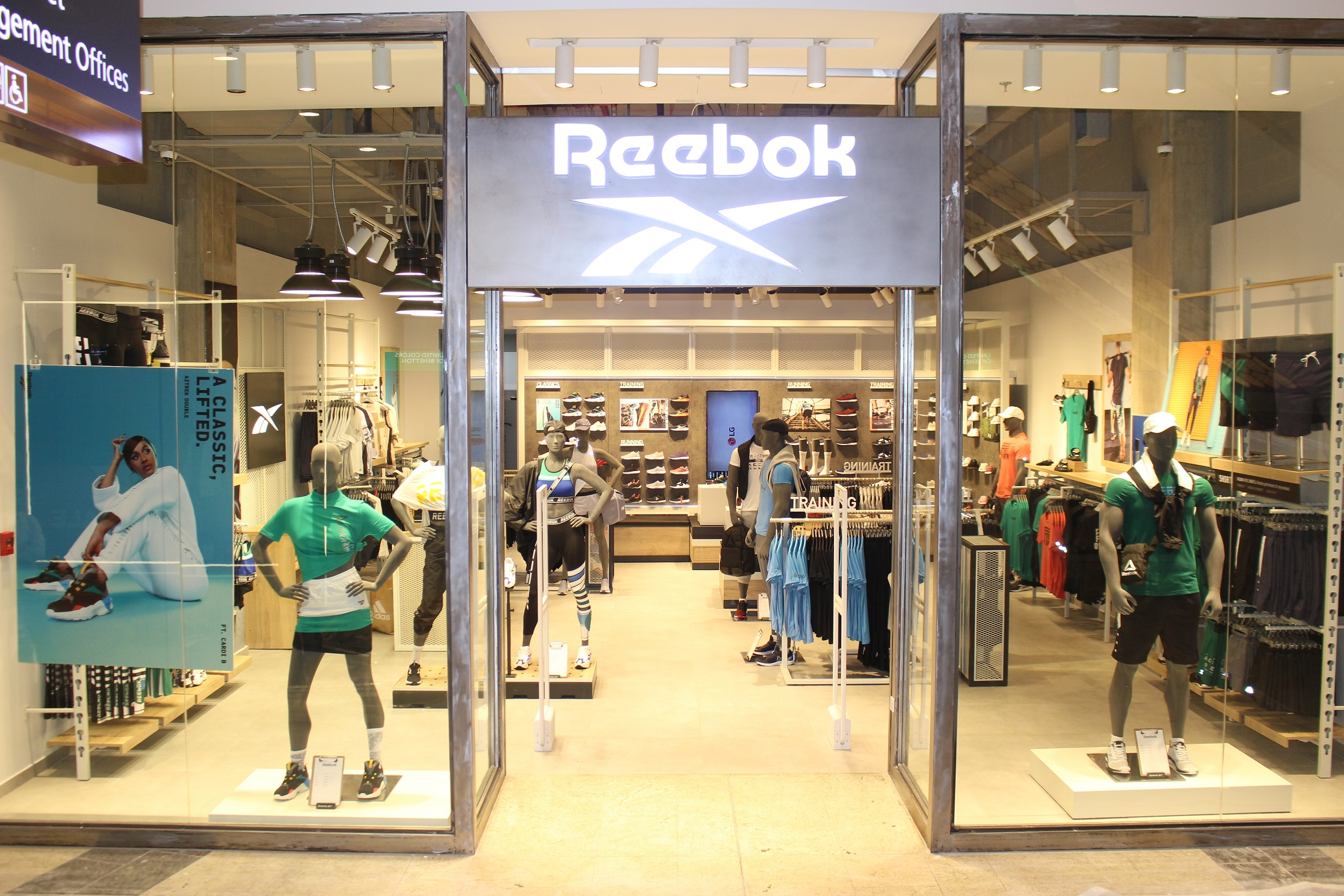 Reebok opens its newest flagship store at City Center Beirut