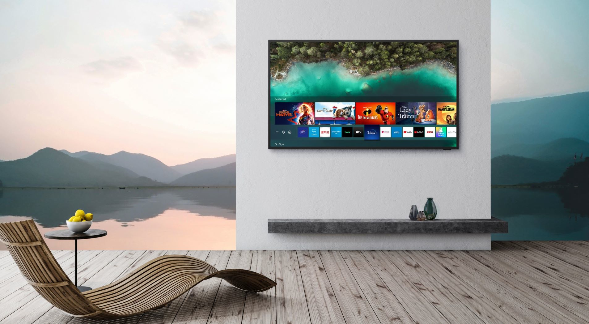 Samsung Takes the Home Entertainment Experience Outdoors with the Latest  Lifestyle TV and Soundbar, The Terrace   Executive Bulletin
